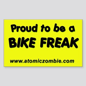 "Bike Freak (Rectangle) 3"" x 5"""